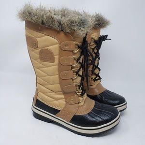 Women's Sorel Tofino II brown boots size 6